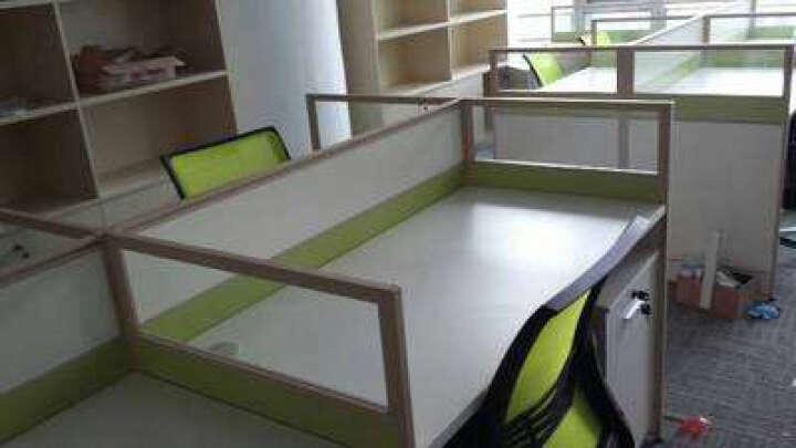 英奥上海办公家具 屏风工作位 职员卡座 员工桌 员工位 职员办公桌椅4人位组合 工字形2人位 含椅子含柜子 晒单图