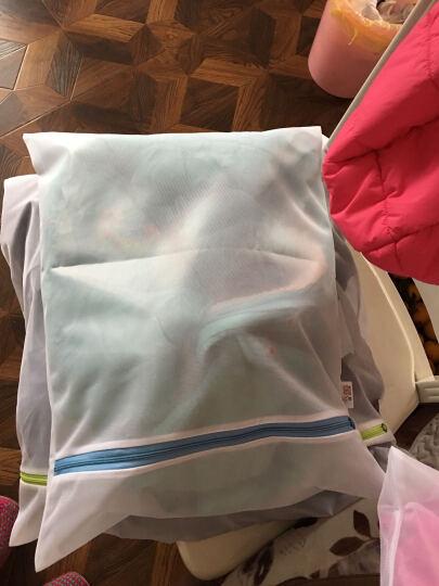优兔 细网粗网套装洗衣袋 洗衣服内衣文胸的洗护袋 大号洗衣机专用网袋 洗衣袋护洗袋 大号50*60细网(连衣裙) 晒单图