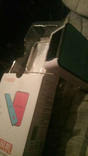 生日礼物送女友创意迷你暖空调办公室桌面小型暖风机取暖器便携式节能电暖器电热扇暖风扇礼物送爸爸妈妈 蓝色 晒单图
