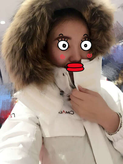 喜玛尔图(CIMALP) 户外羽绒服 男女情侣款连帽长款95%白鹅绒防水防风防寒服137 咖啡色-男 M 晒单图