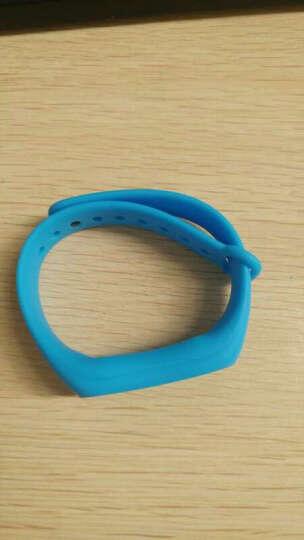 BIAZE 小米手环2代替换腕带 智能运动手环炫彩腕带 蓝色 晒单图