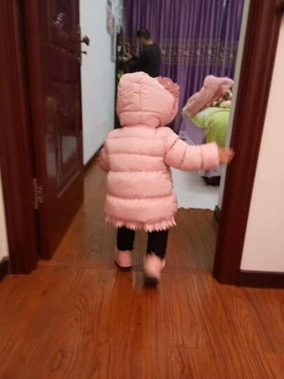 贝乐聪 儿童羽绒服女童棉衣棉服宝宝冬装新款加厚小孩衣服1一2两-3-4-5周岁半 红色 100码建议身高90-100cm 晒单图