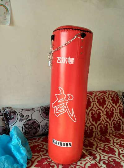 飞尔顿 帆布沙袋PU 沙包 立式实心拳击散打泰拳训练体育用品健身器材 不倒翁 实心红色PU沙包120CM 晒单图