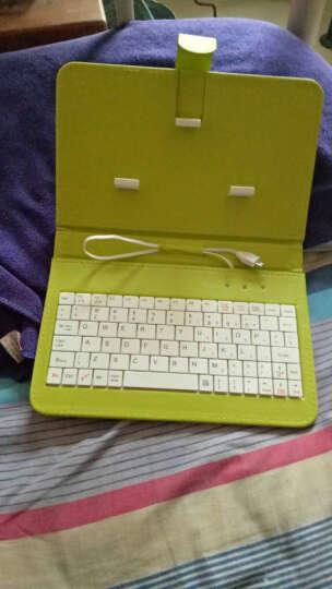 群宝腾键盘OPPO R9手机套R9plus手机壳r7plus R7s外壳R11 Plus 键盘皮套(绿色) 晒单图