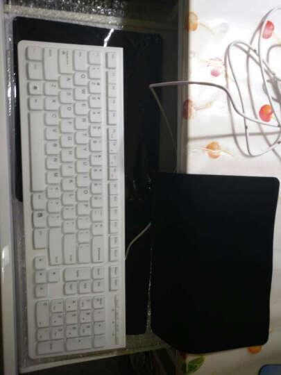 联想(lenovo)键盘膜  巧克力键盘膜 彩色键盘膜 凹凸键盘膜 K5819 联想一体机半透明黑色键盘膜 C340/IR358 晒单图