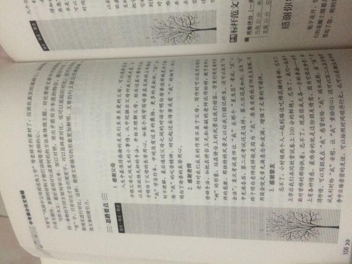 2016年最新5年中考满分文精品(随书附赠30则最增分传统文化经典素材),智慧熊图书 晒单图