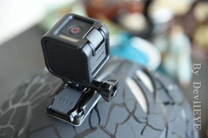 GoPro HERO4 session 迷你小巧高清运动摄像机 精品旅行套装 (相机+三向) 晒单图