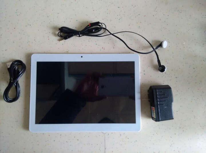 十核全网通4G平板电脑  2K高清屏 王者吃鸡游戏 K10M6土豪金32G+蓝牙键盘+皮套+三年包换 WiFi版 晒单图