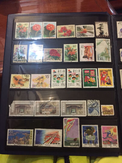 昊藏天下 集邮册邮票收藏册定位册 精装黑卡 空册 3行5行混搭N 晒单图