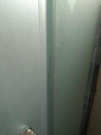 赣春F型防水条无框阳台窗户密封条 淋浴房卫浴玻璃门防风隔音条 F型防水条1.4米长12mm厚 晒单图