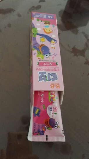 保宁 B&B 儿童护齿牙膏 草莓味 3岁以上 韩国 80g/盒 晒单图