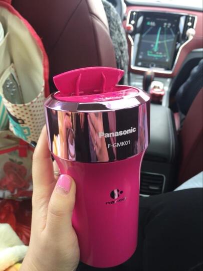 松下(Panasonic) 日版纳米负离子车载空气净化器车内除味除甲醛汽车车用空气净化器 粉色F-GMK01-P现货 晒单图