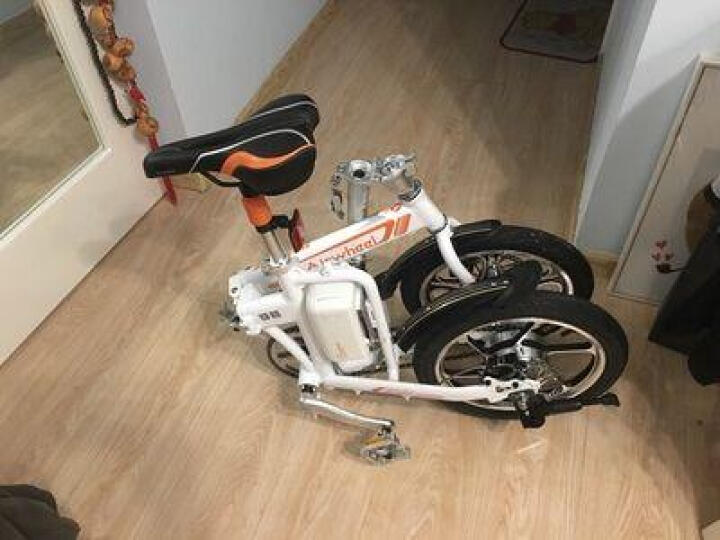 Airwheel 爱尔威R3电动自行车智能折叠车成人代驾代步车电动车锂电池男女通用 白色 晒单图