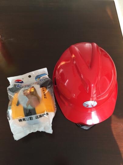 以勒防护耳罩隔间耳机工地施工防噪音配挂ABS安全帽式防护耳罩 耳罩-不含安全帽 晒单图