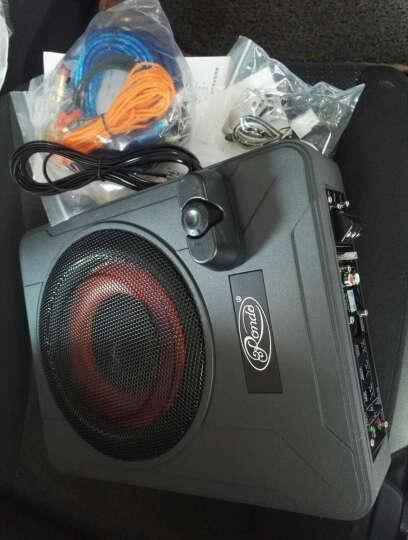 Rondo超薄纯低音炮车载座椅炮有源带功放重低音音箱改装汽车音响喇叭无损改装升级 L10(10寸新款) 晒单图