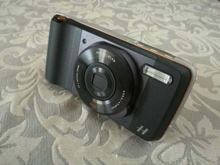 【摩电套装】摩托罗拉 motorola z 4GB+64GB 模块化手机 流金黑 移动联通电信4G手机 双卡双待 晒单图