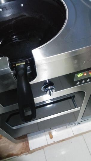 美大 (MEIDA)集成灶 世纪经典1205E环吸下排集成灶 抽油烟机 燃气灶消毒柜集成一体灶双灶 黑色 罐装液化气+电磁灶 晒单图