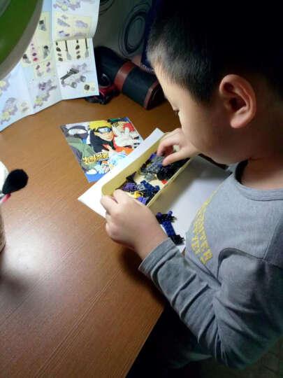启蒙积木玩具拼装6-8-10岁以上男孩儿童益智变形机器人系列立体拼插生日礼物 超合金战神(6合1) 晒单图