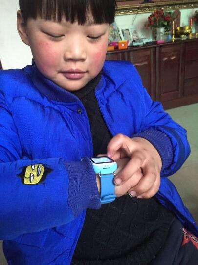 亦青藤(YQT) 【送电话卡】儿童电话手表学生小孩儿童定位手表触屏拍照手机插卡智能防水 天蓝色(内置移动卡不能换卡)M4 晒单图