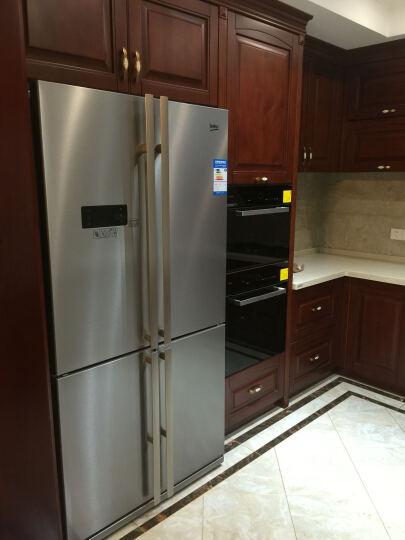 倍科(BEKO) GNE114622IX 556升 十字对开门冰箱 原装进口 变频 不锈钢色 晒单图