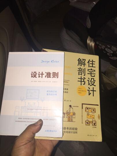 套装 住宅设计解剖书+设计准则(成为自己的室内设计师) 共2册 室内装修设计 DIY家居 晒单图