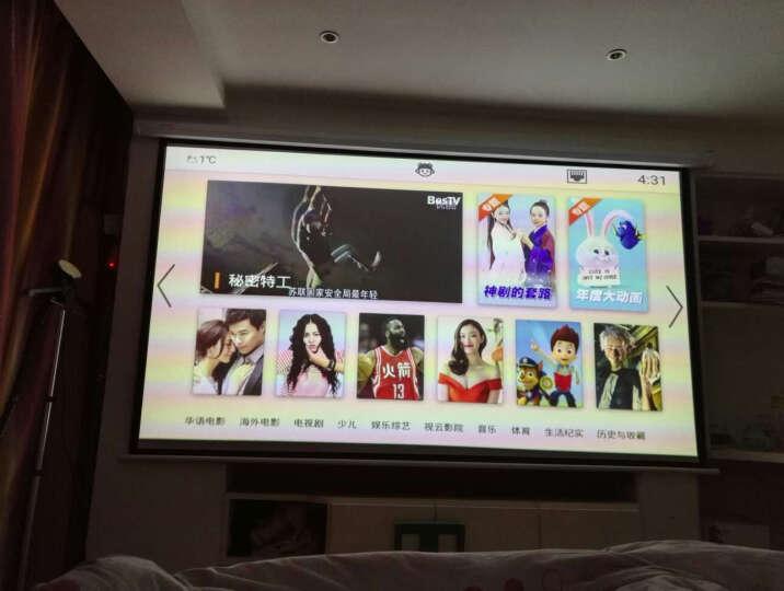 联想(Lenovo)小新 T1 家用 投影机 投影仪(800P高清分辨率 700流明 玻璃镜头 手机/微型/便携投影) 晒单图