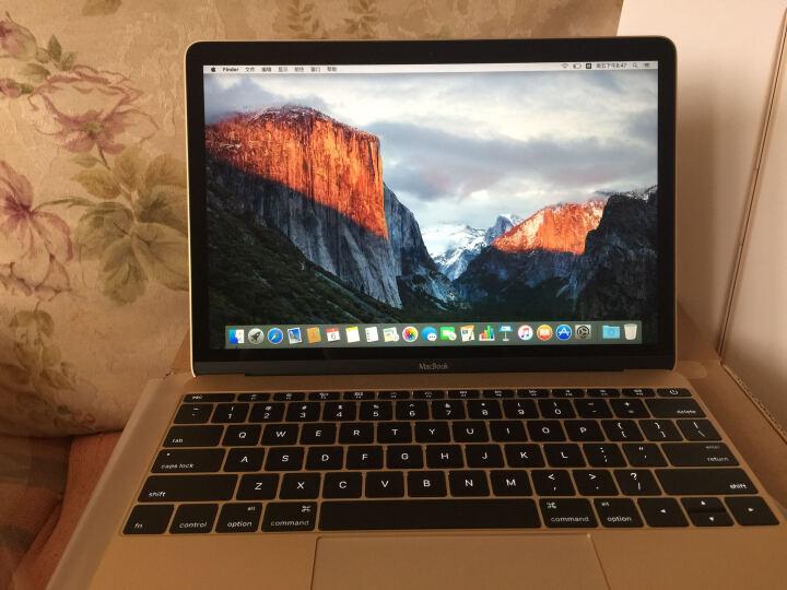 Apple MacBook 12英寸笔记本电脑 金色 512GB闪存 MLHF2CH/A 晒单图