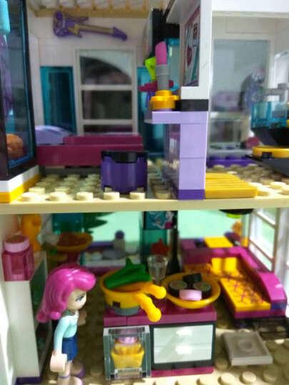 乐高LEGO儿童女孩益智立体拼装积木玩具小颗粒心湖女孩好朋友系列  拼装玩具 41130游乐场大型过山车- 晒单图
