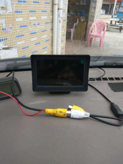 杰神汽车语音可视倒车雷达一体机12V小车24v货车高清夜视倒车影像系统 7寸支架显示器+可视雷达+货车摄像头 晒单图
