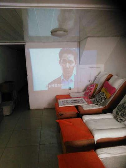 福满门(Fumen) 福满门 B100-BA 高清外置wifi 投影仪LED投影机 办公 银色套餐五 晒单图
