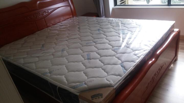 眠神(mianshen) 眠神 床垫 乳胶床垫1.8米 环保零甲醛 偏硬护脊弹簧床垫 偏硬/THERMOLITE面料+3E+静音弹簧 1800*2000 晒单图