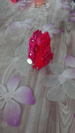 奥迪双钻机甲兽神2爆裂飞车3兽神合体星能觉醒玩具套装晶片竞技自动夺晶变形机器人车 古磊-爆击系列-裂地崩龙(处女座) 晒单图