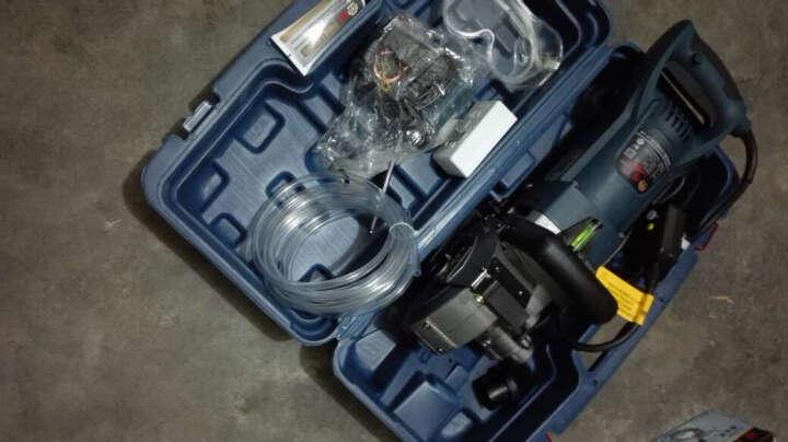 开槽机 一次成型墙壁开槽机 混凝土切割机 无死角槽机 水电安装布线开槽工具切槽机 重型一代槽王开槽机(可安装7个刀片) 晒单图