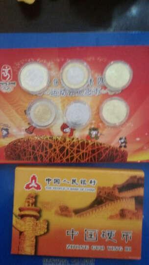 好藏天下Z 2008年北京奥运会流通纪念币 北京奥运会收藏纪念币 收藏品 一组2枚举重 游泳 晒单图
