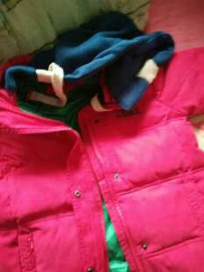 羽克(Yuke) 羽克儿童羽绒棉服冬款男女童中大童棉衣棉服童装冬装外套 黄色加厚 150(建议身高140cm左右) 晒单图