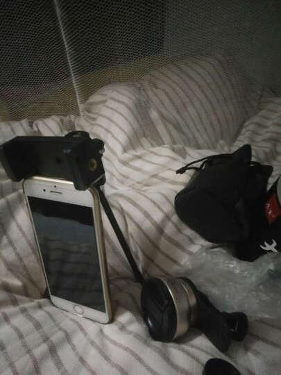 小天手机镜头超广角微距拍照神器套装通用单反外置摄像头安卓苹果通用 玫瑰金(花瓣款)广角微距二合一 晒单图