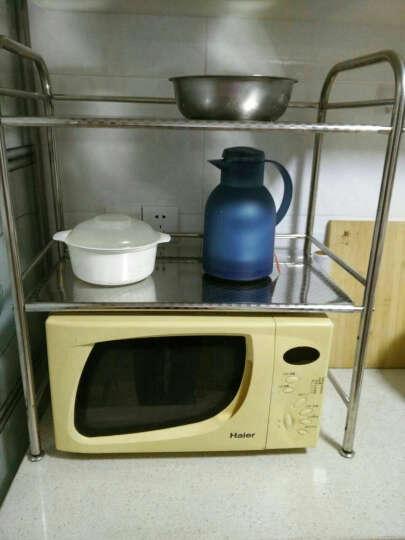 尚辰鑫 不锈钢置物架厨房微波炉储物收纳火锅层架子 五层60x35x125 晒单图