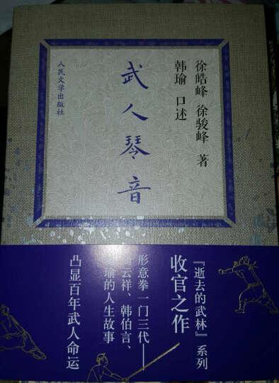 徐皓峰口述武林(道士下山、逝去的武林、高术莫用、武人琴音)(套装共4册) 晒单图