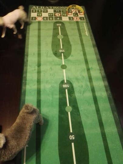 韩国高尔夫推杆练习器(毯式)办公室 家用 室内高尔夫推杆毯 天鹅绒毯面 90CM宽 3米长 晒单图