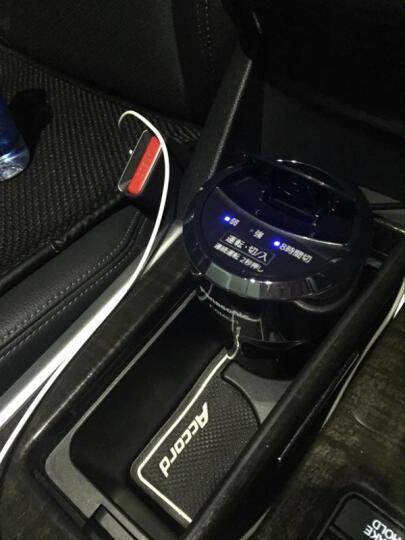 松下(Panasonic) 日版纳米负离子车载空气净化器车内除味除甲醛汽车车用空气净化器 黑色F-GMK01-K现货 晒单图