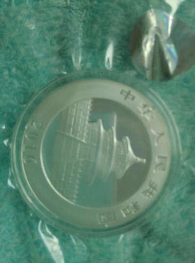东泉钱币 中国金币 2016年版熊猫金银纪念币 30克熊猫银币 5枚优惠装(无盒) 晒单图