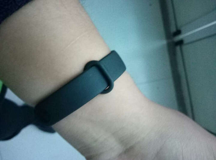 洛特非(lottefee) 智能手环 运动手环男女计步器心率睡眠监测来电提醒运动健身 原装贴膜(2片) 晒单图