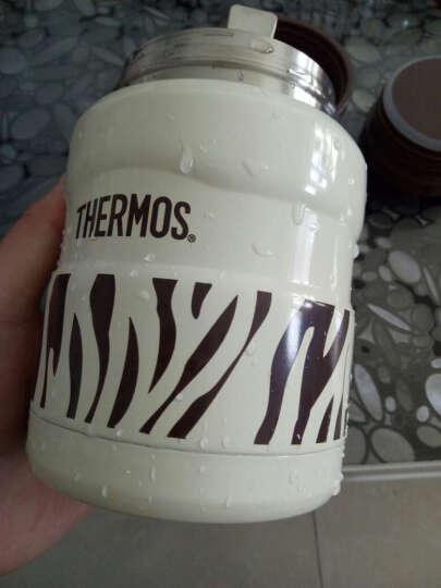 膳魔师THERMOS焖烧罐保温杯真空儿童不锈钢闷烧杯户外保鲜饭盒SK -白斑马 晒单图