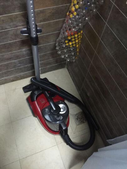 飞利浦(PHILIPS)卧式吸尘器FC8760/81家用大功率大吸力多吸嘴无尘袋(果冻红) 晒单图