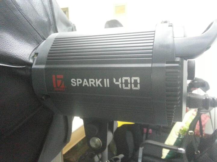 金贝SPARKII400W摄影灯摄影棚套装影室闪光灯引闪器造型灯泡摄影器材 三灯标准套装 晒单图