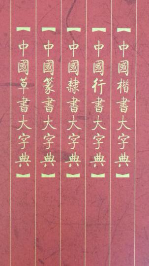 中国篆书大字典(上下) 晒单图