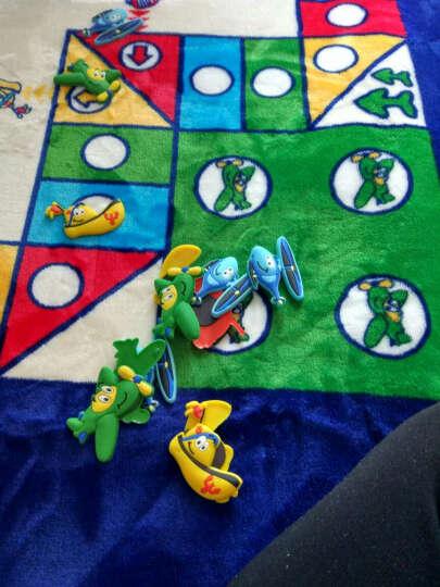 床美人家纺 地毯垫宝宝爬行垫卧室客厅加厚地毯子卡通游戏地垫飞行棋地垫儿童益智玩具生日礼物 缤纷快乐 145cm*195cm 晒单图