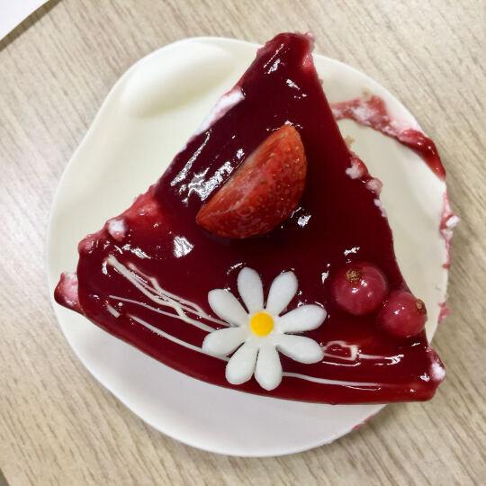 味多美 生日蛋糕 慕斯蛋糕 天然奶油 同城配送北京 草莓多芬慕斯 直径25cm 晒单图