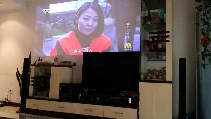 金门子 H 108家庭影院5.1套装音响组合 家用光纤同轴功放低音炮 KTV客厅电视音响 638七件套带基础无线麦 晒单图