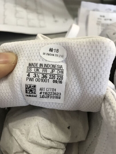 Adidas阿迪达斯男鞋 三叶草情侣金标贝壳头夏季女鞋superstar休闲小白鞋板鞋C77124 CM8078(黑色) 41 晒单图